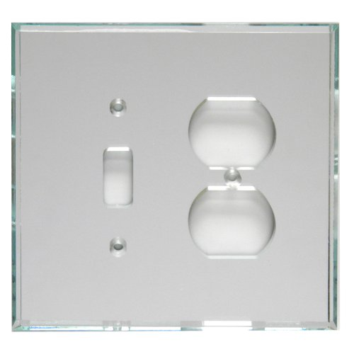 GlassAlike Duplex/Switch Acrylic Mirror Plate