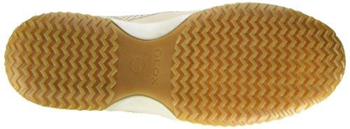 A Beige beigec5016 D Femme Sneakers Basses Geox Happy wEq8S6