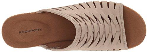 Sandalo Con Zeppa Da Pescatore Da Donna Rockport Semplicemente Taupe