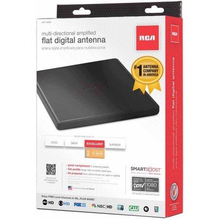 RCA Amplified indoor flat HDTV antenna