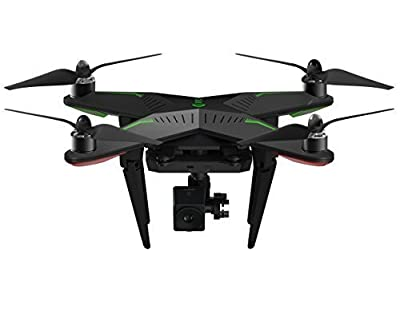 XIRO Xplorer New Aerial UAV Drone Quadcopter with 1080p FHD FPV live Video Camera and 3 Axis Gimbal -- Standard Version with V Kit Special Edition from XIRO