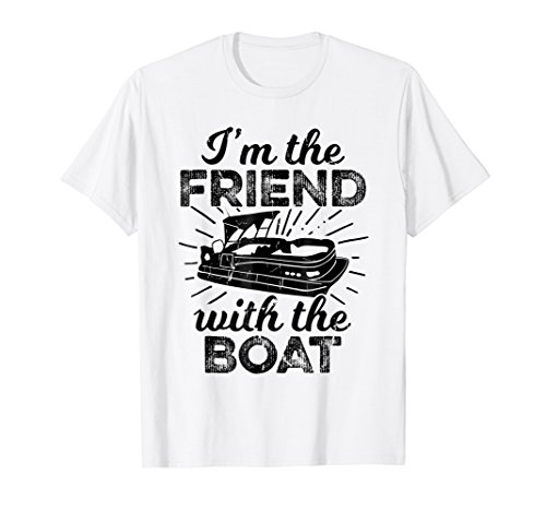 The Boat Shirt Pontoon Fathers Day Gift ()