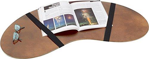 "Trademark Innovations 32"" Portable Curved Shape Lap Desk"