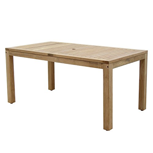 Amazonia Teak Rinjani Teak Rectangular Dining Table (Teak Rectangular Dining Table)