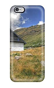 Hot Tpye Mountain House Case Cover For Iphone 6 Plus