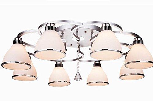 Plafoniera Fiori Vetro : Zwl plafoniera in vetro senso artistico soggiorno