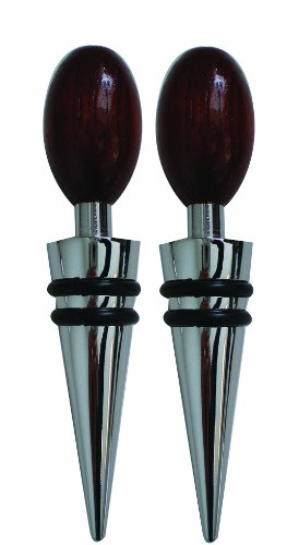 Global Decor Wood Bottle Stoppers product image