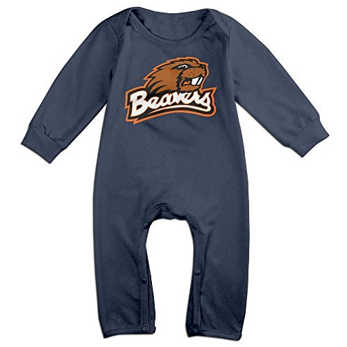 Price comparison product image OOKOO Baby's Oregon State University Beavers Bodysuits Outfits Navy 12 Months