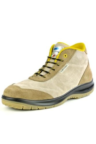 Beige beige Scarpe 6 ABOUTBLU antinfortunistiche UK uomo ZTt414x