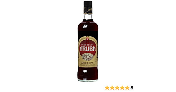 arehucas licor de cafe Aruba Café licor, 1er Pack (1 x 700 ml)