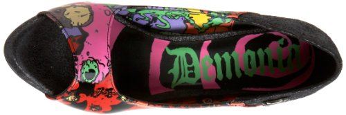 Demonia Door Pleaser Womens Zombie-10 Pump Black Polyurethane
