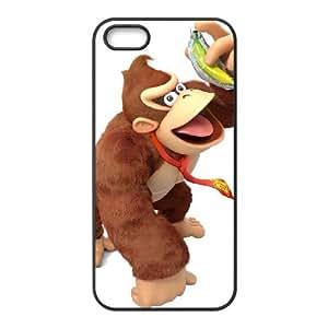 iPhone 4 4s Cell Phone Case Black Super Smash Bros Donkey Kong 014 Rcaeg