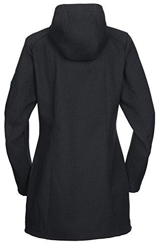 Nero Donna VAUDE Belize Black Cappotto wtnqzC