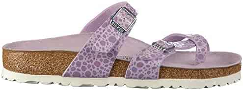 Birkenstock Unisex Mayari Birko-Flor Lilac Sandals 10 W / 8 M US