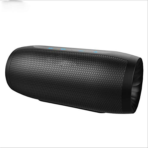 (14-Hour Portable HiFi subwoofer Touch Button Bluetooth Speaker, Built-in high-Definition Microphone, Dual Resonance Film Corrosion-Resistant, Non-Slip Stable IP4 dustproof 4000 Emergency Power Supply)
