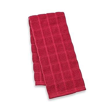 Kitchensmart® Solid Kitchen Towel (Ming Red)