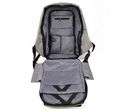 Oxford Tuch Schultertasche Sport Rucksack Casual Computer Tasche Anti - Diebstahl - Paket Student Tasche Purple