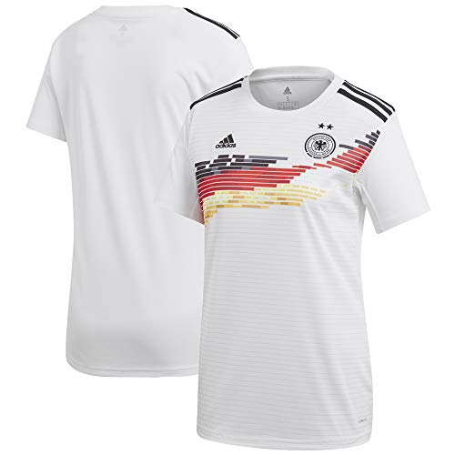 adidas Germany Women's National Team Women's 2019 Home Replica Jersey - White - Ladies Jersey Replica Home