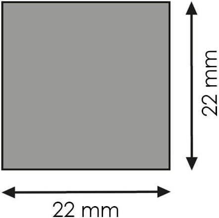 Quadratleiste Bastelleiste Abschlussleiste Abdeckleiste aus unbehandeltem Kiefer-Massivholz 2100 x 22 x 22 mm