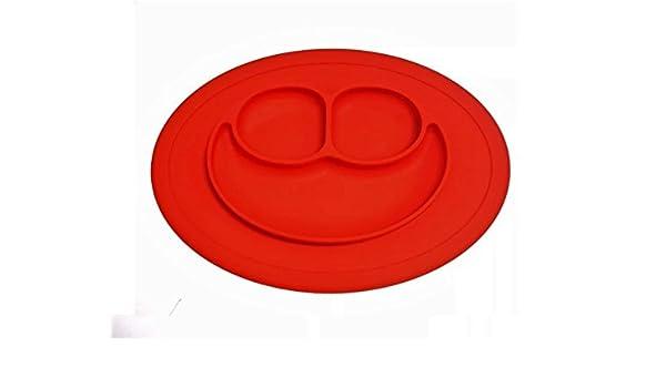 Bandeja BLW antideslizante Roja