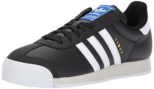 adidas Originals Men's Samoa,BLACK/WHITE/TALC,10.5 Medium US