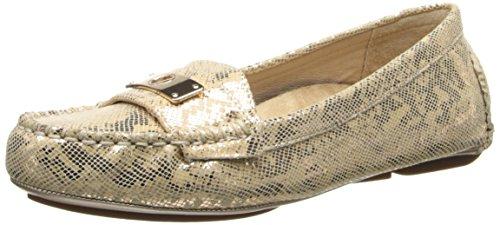 Vionic Mujeres Ease Sydney Loafer Gold Snake