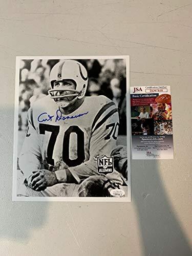 Art Donovan Autograph Autographed Signed Memorabilia Colts 8x10 Photo JSA