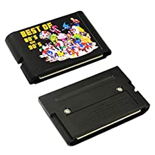196 in 1 for 16 bit Sega Mega Drive Multi Game Cartridge with Golden Axe 1/2/3, Ristar, Jurassic Park 1/2, Valis 3, Out Run,etc. - MD card Game Card For Sega Mega Drive For Genesis
