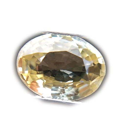 1.06ct Natural Oval Normal Heated Yellow Sapphire Sri-Lanka ()