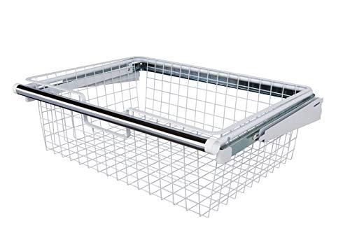 Rubbermaid FG3J0503WHT Configurations Sliding Basket - - Drawer Rubbermaid Shelf Organizer