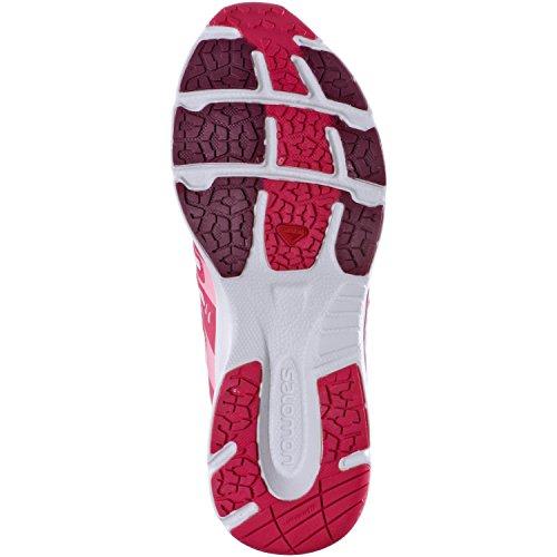 Salomon Women's Running Shoes - MYSTIC PURPLE/HOT PINK/SAKURA PIN dexqI93zDu