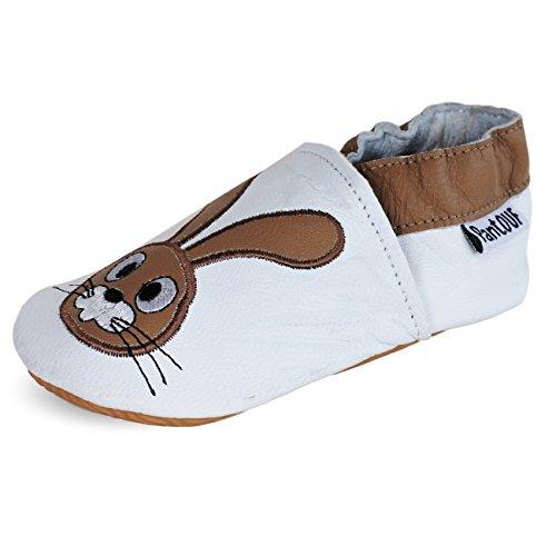 PantOUF Zapatillas de estar Por Casa Niños conejo
