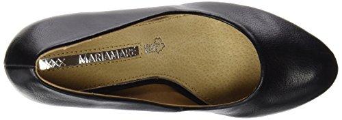 MTNG Originals 61303, Zapatos de Tacón con Punta Cerrada para Mujer Negro (BOMBEADO NEGRO)