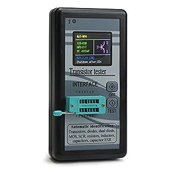 "Megmoki M328 1.8"" LCD Multifunction Transistor Tester Mega328 NPN/PNP Automatic Identified Diode Resistor"