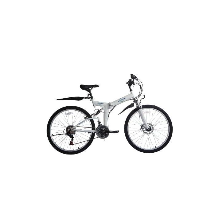 Bicicleta de MontaÑA Para Mujer, Ecosmo 21Sp Shimano – 26Sf02Bl Plegable, 66 Cm, de la Marca Shimano