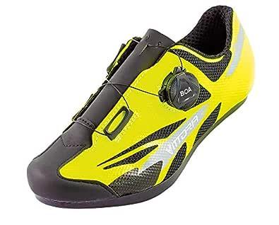 Vittoria Kid Boa Road Cycling Shoes Yellow Size: 32