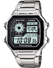 Casio Digital Caballero AE-1200WHD-1AVDF Unisex Watch