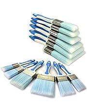 """Kingorigin-Tools Pinselset - Flachpinsel, 6 Stück, Profipinsel mit Kunststoffborsten. 1""""1.5'' 2""""2.5''3''4'' - Premium Pinsel Set - No Loss Pinsel"""