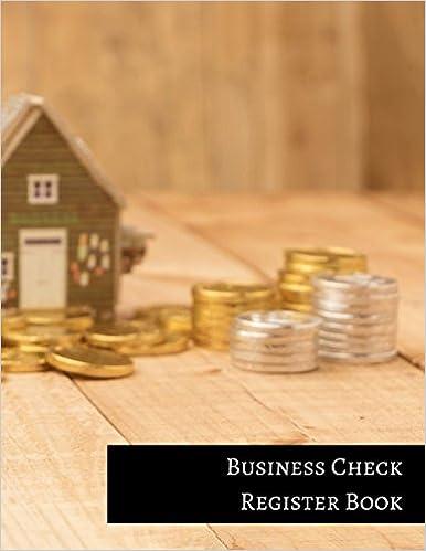 business check register book insignia accounts 9781521113066