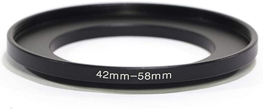 Anillo adaptador de filtro 42mm-43mm convierte Hilo de lente de 42mm a 43mm 42-43 Step-Up