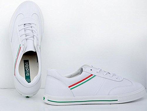 Colores Escuela Verano Lady Estudiantes 39 GREEN Compras XIE Green Ocio Shoes 36 Movimiento Correr Fitness diarias Clásico Dos E8wWOq