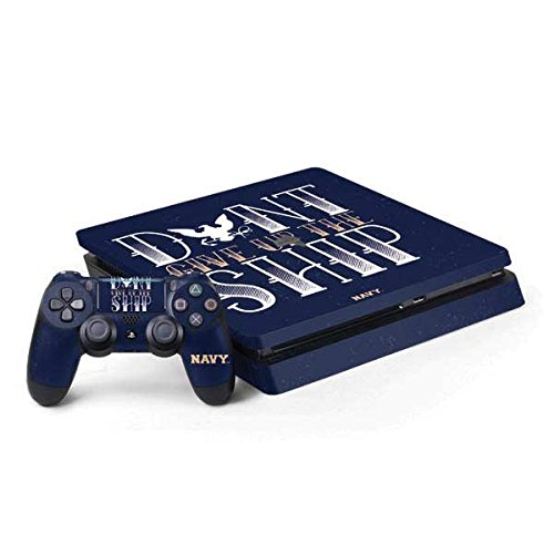 (US Navy PS4 Slim Bundle Skin - Dont Give Up The Ship)