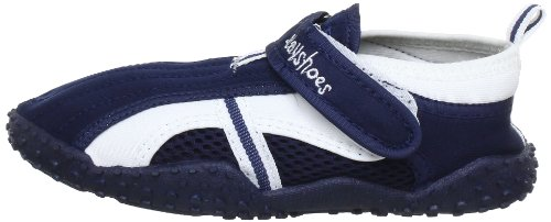 Playshoes Children's Aqua Beach Water Shoes (8.5 M US Toddler, Navy) by Playshoes (Image #5)