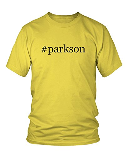 parkson-hashtag-mens-adult-short-sleeve-t-shirt-yellow-medium