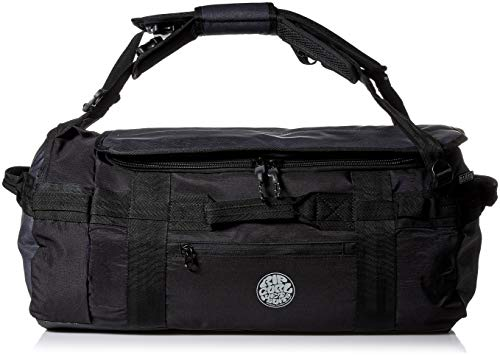 (Rip Curl Men's Search Wet/Dry Convertible Backpack/Duffle, Black, 1SZ)
