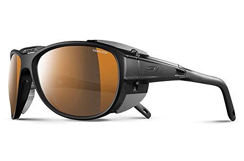 Julbo Explorer 2.0 Sunglasses, Matte Black/Black with Cameleon Lenses