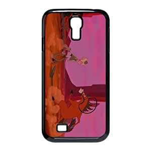 Samsung Galaxy S4 9500 Cell Phone Case Black Disney Home on the Range Character Buck Personalized Fashion Phone Case Cover CZOIEQWMXN1943
