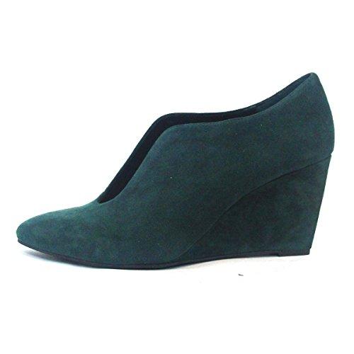 Juicy Couture Slip On Zapatos de cuña Waffle, talla 3,5 Verde - Ivy Green