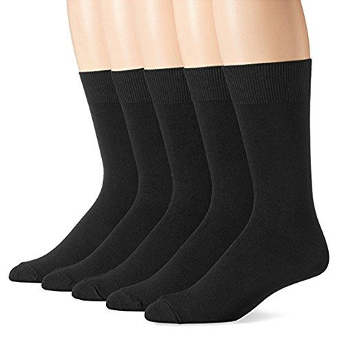 mens 100 cotton dress socks - 9