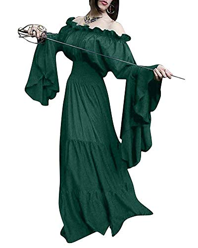 Halloween Mujer Red color waist Inch Vestidos Disfraz 59 Jinsh Size Lujo Hombro De Purple Vestido Del 2xl 25 Medievales Adultos Fuera Para 1Bqxtw8